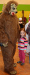 Medvěd a medvědářka