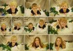 Vánoční fotky dětí