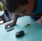 Malujeme putovní kamínky