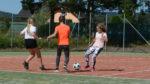 TV dívky - 6 a 7 - slunce, fotbal, frisbee