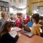 Předškoláci na návštěvě v první třídě