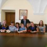 Ocenění úspěšných žáků starostou města